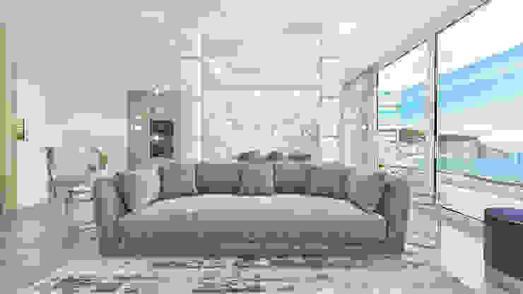 Design de Interiores Sala por Glim - Design de Interiores