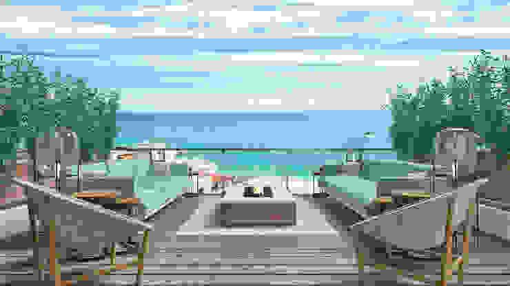Design de Exteriores - Terraço por Glim - Design de Interiores