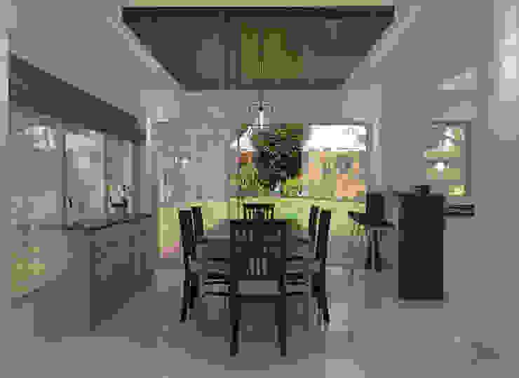Dining Area Modern dining room by JM Razon Interiors Modern