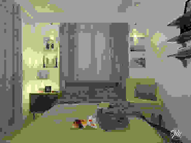 Guest Room Modern style bedroom by JM Razon Interiors Modern