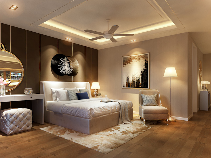 RIKATA DESIGN Modern style bedroom