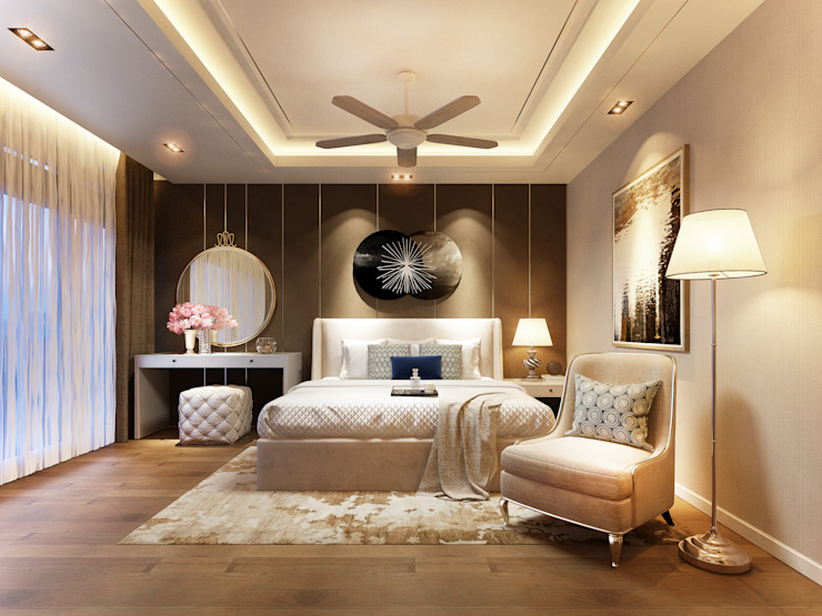 Modern style bedroom by RIKATA DESIGN Modern