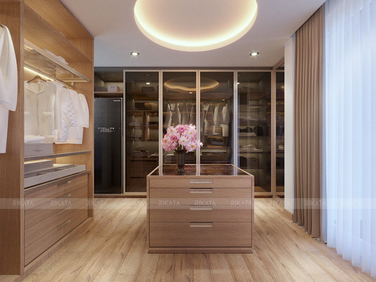 Modern dressing room by RIKATA DESIGN Modern