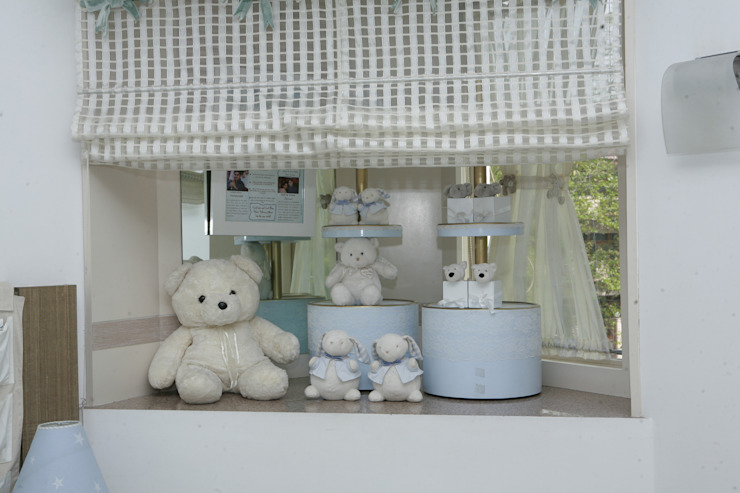 cool corner with soft toys by Tanish Dzignz Minimalist