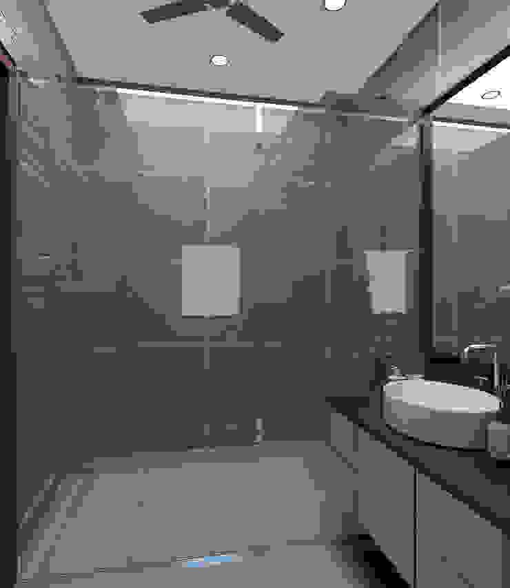 Modern- Bling- Master Bathroom Modern style bathrooms by Tanish Dzignz Modern