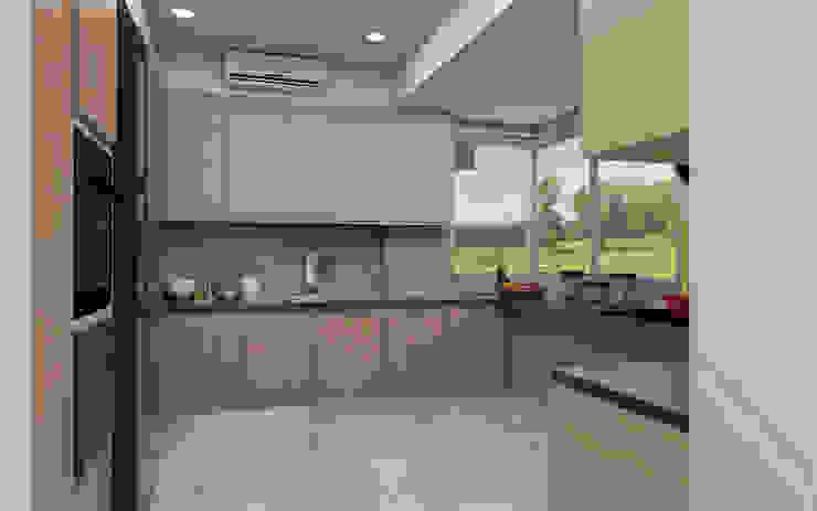 Tanish Dzignz Modern style kitchen