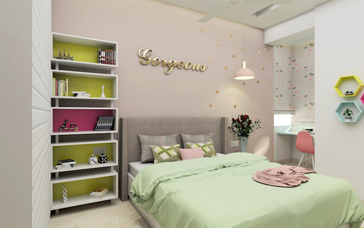 Tanish Dzignz Modern style bedroom
