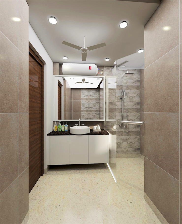 Tanish Dzignz Modern style bathrooms