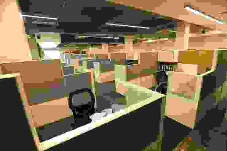 Workstation Zone Tanish Dzignz Modern office buildings