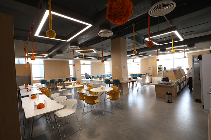 Cafeteria Tanish Dzignz Modern office buildings