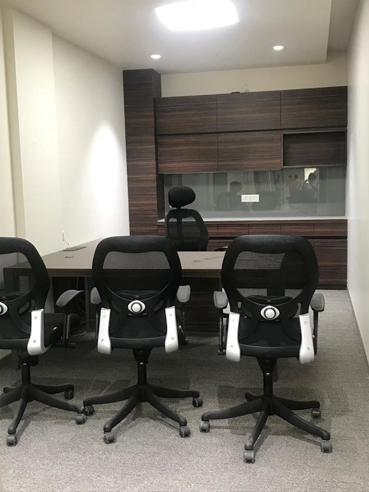 Executive Cabin Tanish Dzignz Modern office buildings