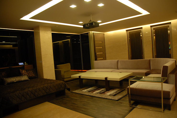 Teenager Boy Bedroom- Lounge And Terrace Eclectic style bedroom by Tanish Dzignz Eclectic