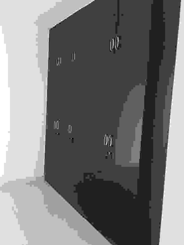 Wardrobe in Black finish Hoop Pine Interior Concepts BedroomWardrobes & closets Plywood Black