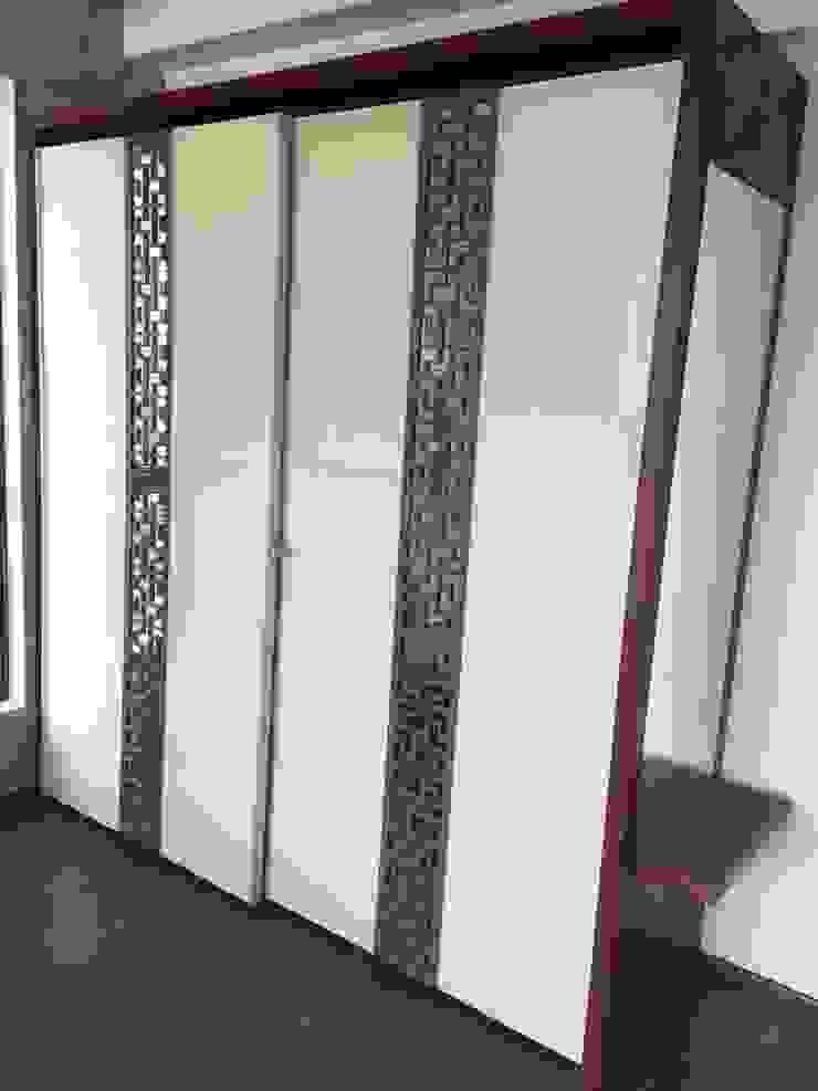 Hoop Pine - Sliding Wardrobes Hoop Pine Interior Concepts BedroomWardrobes & closets Plywood Beige