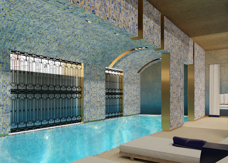 Spa Spa moderno por Inêz Fino Interiors, LDA Moderno