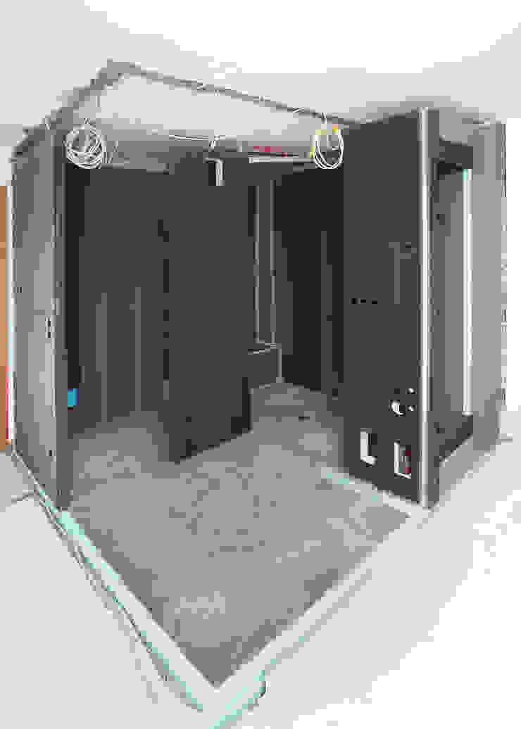 Realización de estructuras personalisadas con el panel de construcción wedi Wedi GmbH Sucursal ESPAÑA Hoteles de estilo moderno
