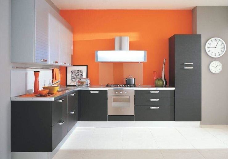 Cocinas de Constructora Arcus Limitada Moderno