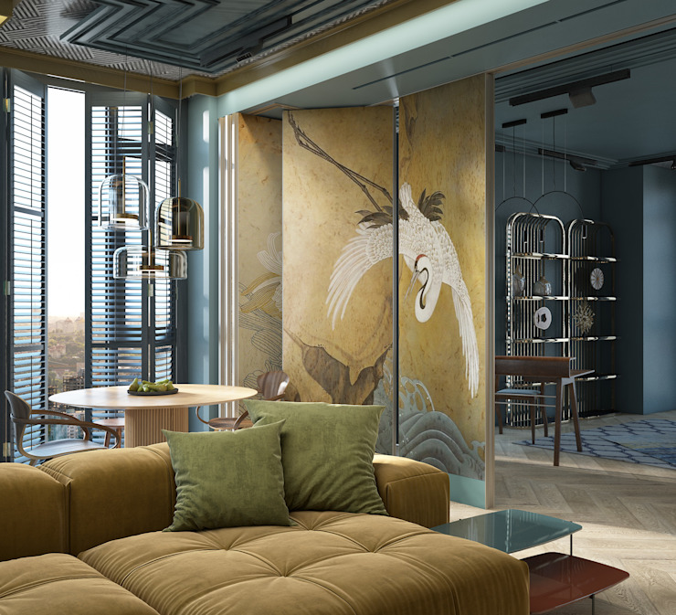 by naer interior Eclectic Copper/Bronze/Brass