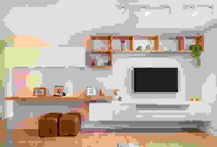 MOOD- Apartamento Interlagos:   por Estudio MOOD,Minimalista