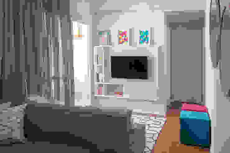 MOOD- Apartamento Santo Amaro Salas de estar minimalistas por Estúdio MOOD Minimalista