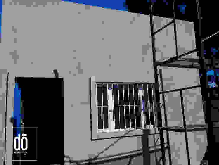 Obra LR do Arquitectura (Construcción en Steel Framing y Panales Sip) Casas minimalistas