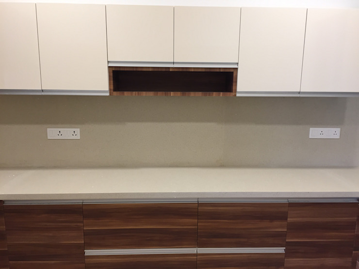 Kitchen Cabinet with Open unit in Kitchen by Hoop Pine Interior Concepts Eclectic Plywood
