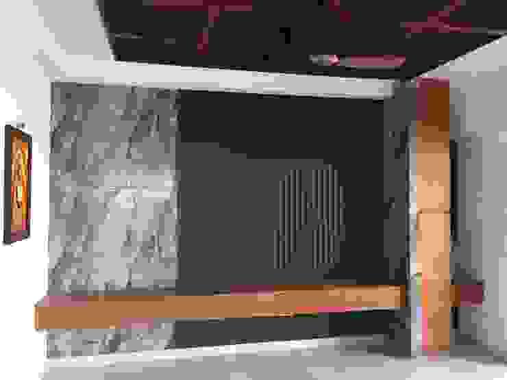 TV Unit Minimalist living room by Hoop Pine Interior Concepts Minimalist Plywood