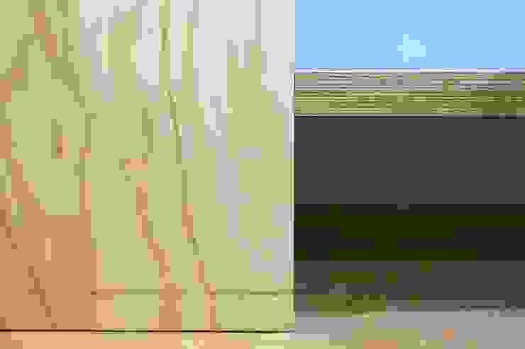 entrearquitectosestudio Modern walls & floors Solid Wood Wood effect