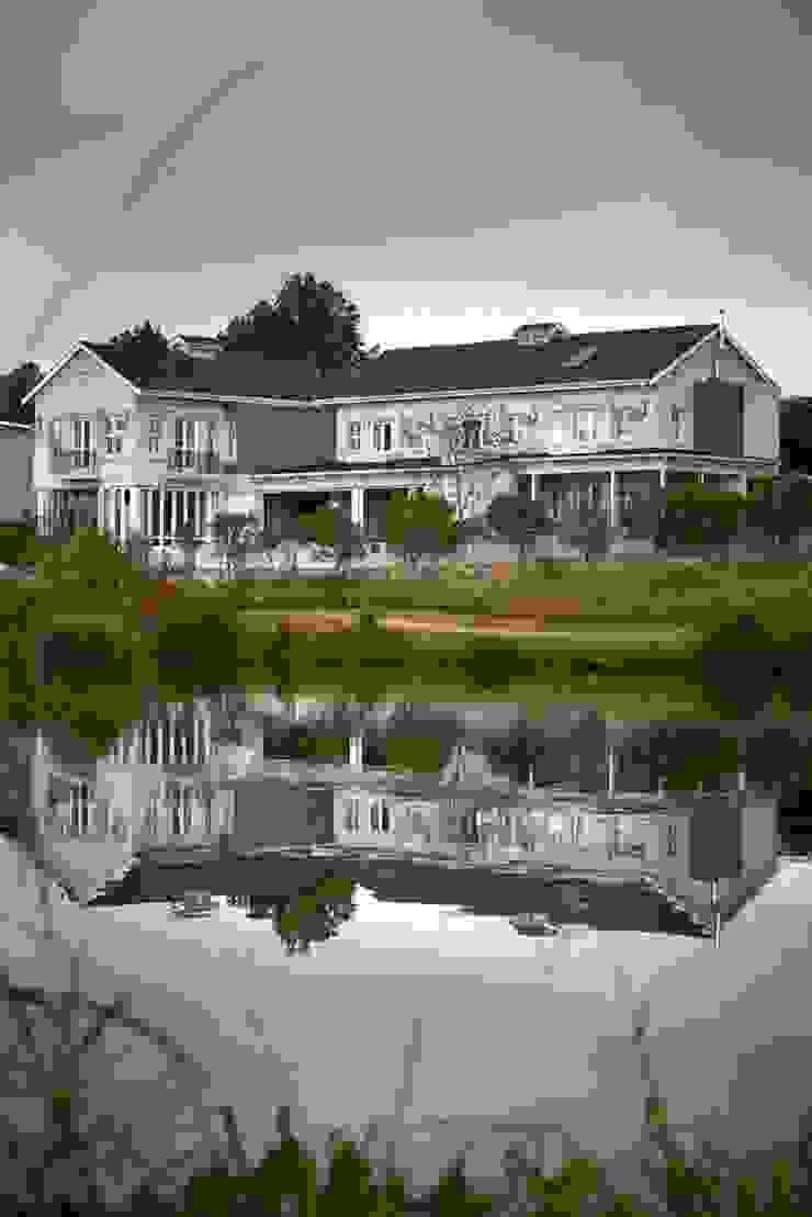 Balkon, Beranda & Teras Klasik Oleh DOWN to Earth Architects & Interiors Klasik Kayu Wood effect