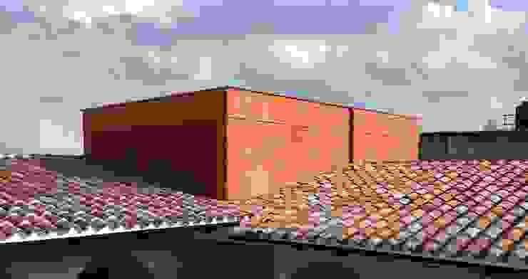 AGE/Alejandro Gaona Estudio Villa Laterizio Rosso