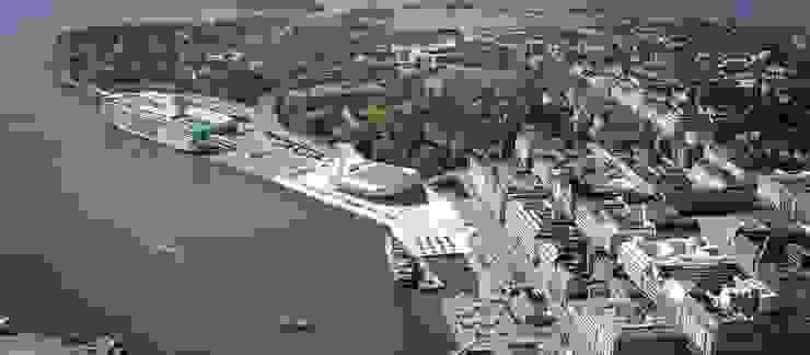 Museo Guggenheim Helsinki AGE/Alejandro Gaona Estudio Museos de estilo escandinavo Madera Acabado en madera