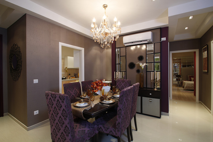 Appartment Interiors Tanish Dzignz Classic style dining room