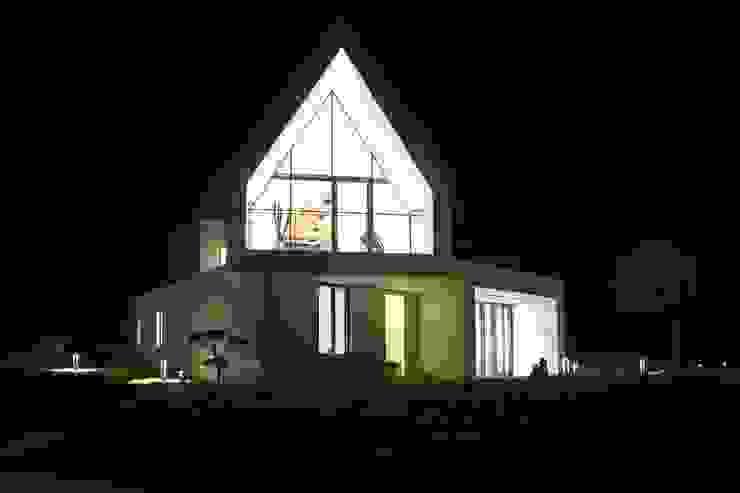 남측전경 / 야경 by AEV Architectures (아으베아키텍쳐스) 미니멀
