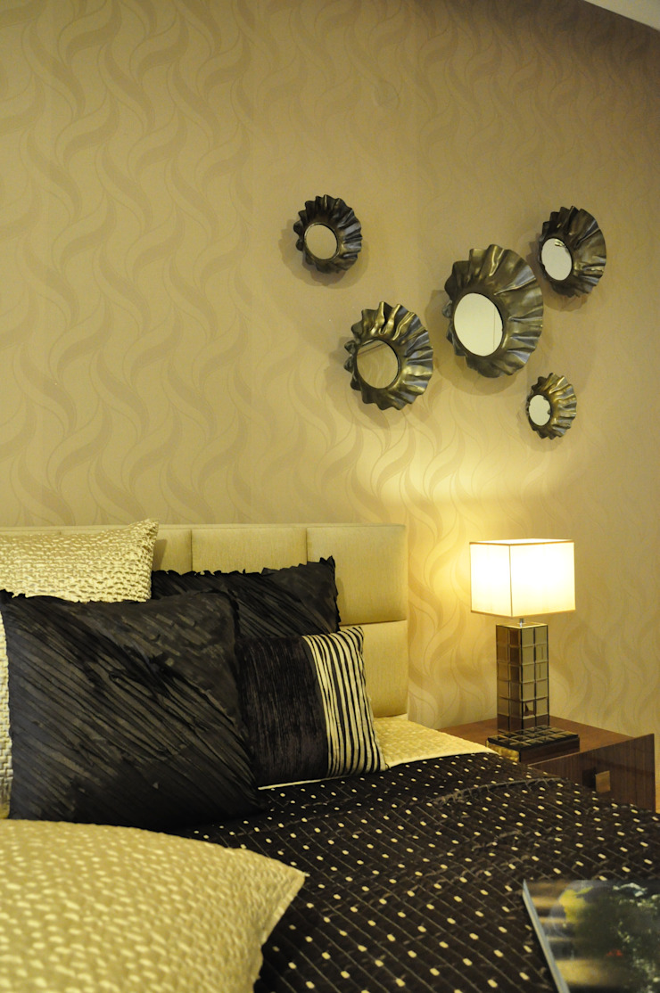 Apartment Modern style bedroom by Tanish Dzignz Modern