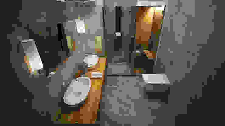 Baños modernos de ARCONPROJE Moderno Compuestos de madera y plástico