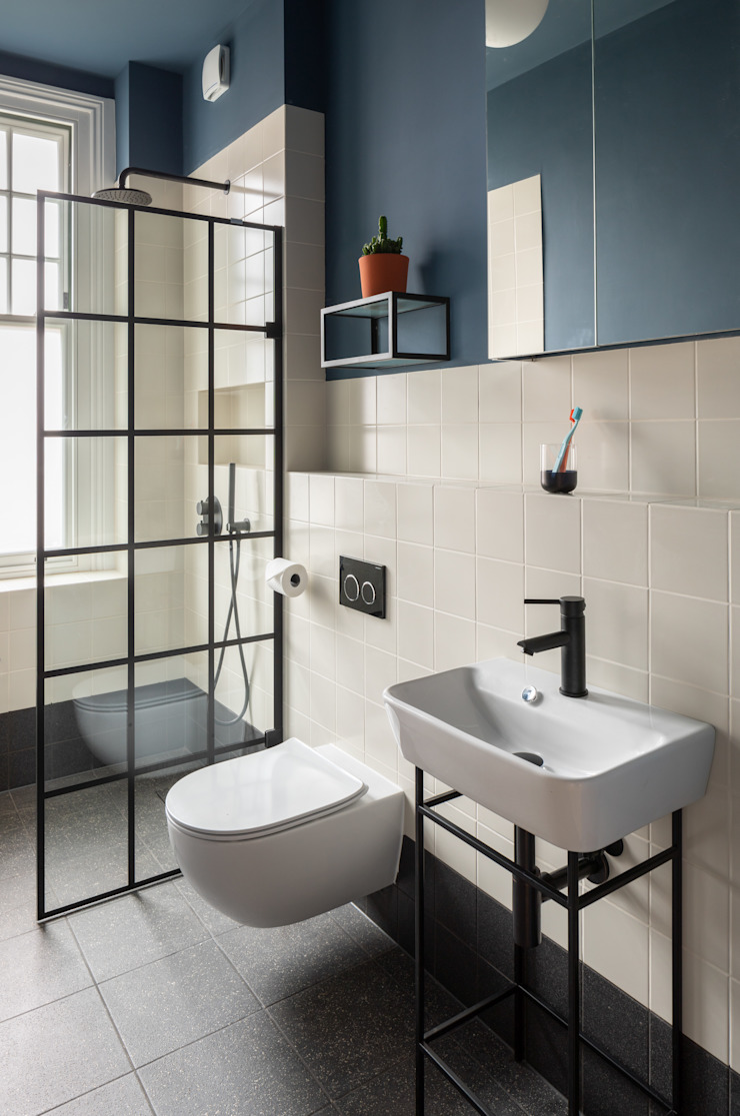 The Christmas House Fraher and Findlay Scandinavian style bathroom