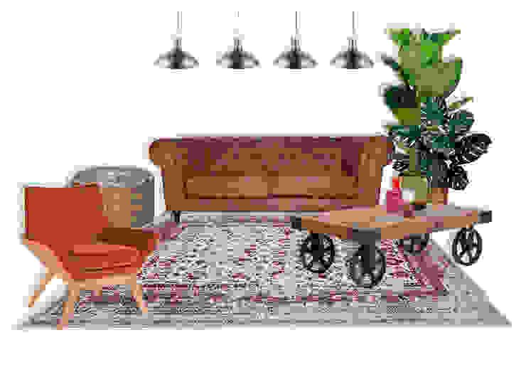 Rafaela Fraga Brás Design de Interiores & Homestyling Car Dealerships Wood Multicolored