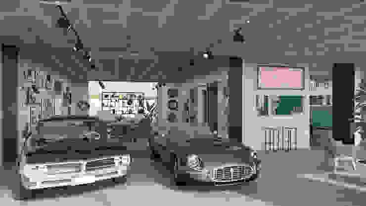 Rafaela Fraga Brás Design de Interiores & Homestyling Concessionnaires automobiles industriels Béton