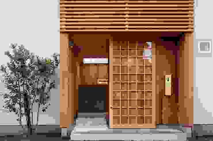 ツジデザイン一級建築士事務所 Wooden houses Wood Wood effect