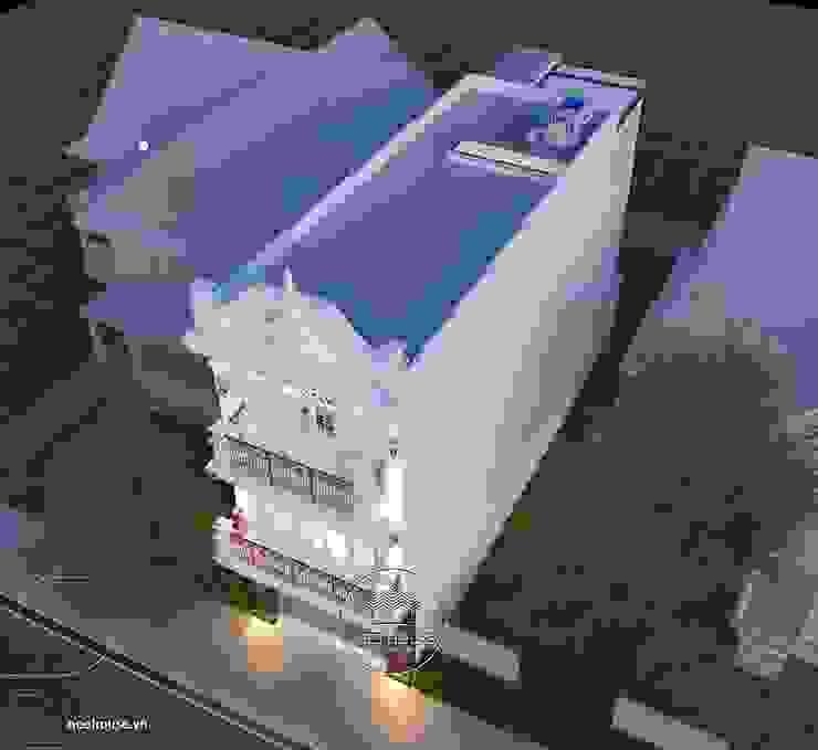 Mẫu nhà biệt thự 3 tầng đẹp tân cổ điển đẹp và sang trọng bởi NEOHouse