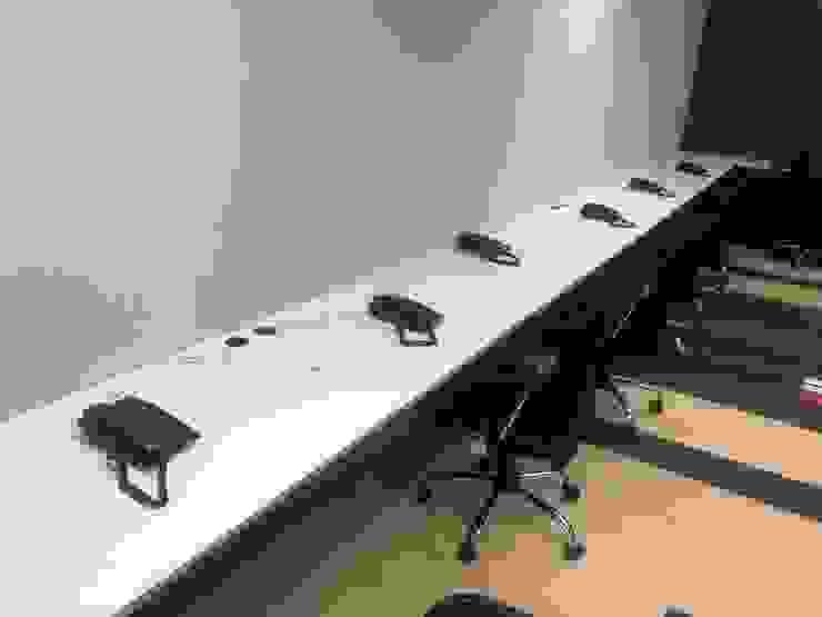 Ataxia Servicios Modern study/office Wood-Plastic Composite Black