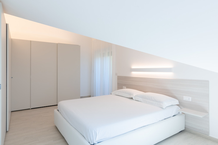 Micro Interior Design Modern style bedroom