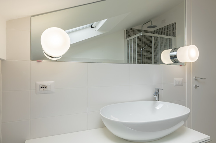 Micro Interior Design Modern bathroom