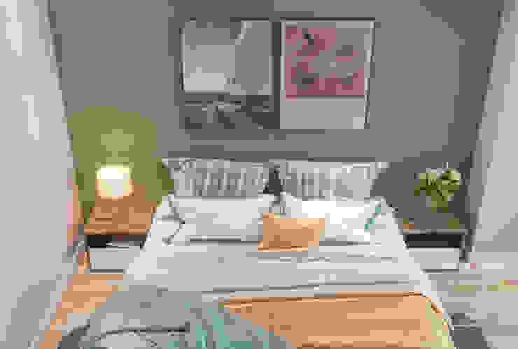 Thiết kế nội thất phòng ngủ: scandinavian  by Công ty cổ phần kiến trúc nội thất Home&Home, Bắc Âu