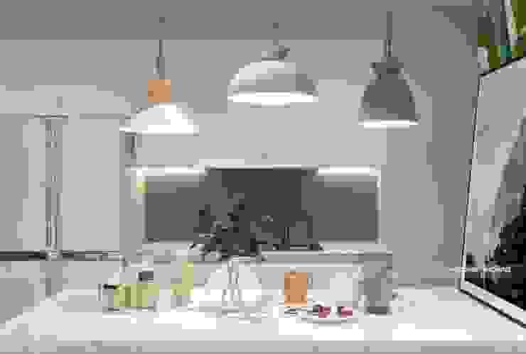Thiết kế nội thất không gian bếp: scandinavian  by Công ty cổ phần kiến trúc nội thất Home&Home, Bắc Âu
