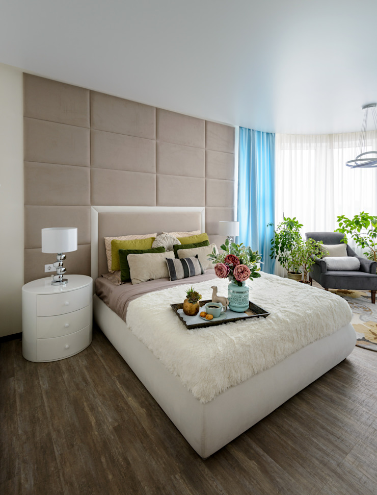 Eclectic style bedroom by Индивидуальный дизайнер Уткина Дарья Eclectic