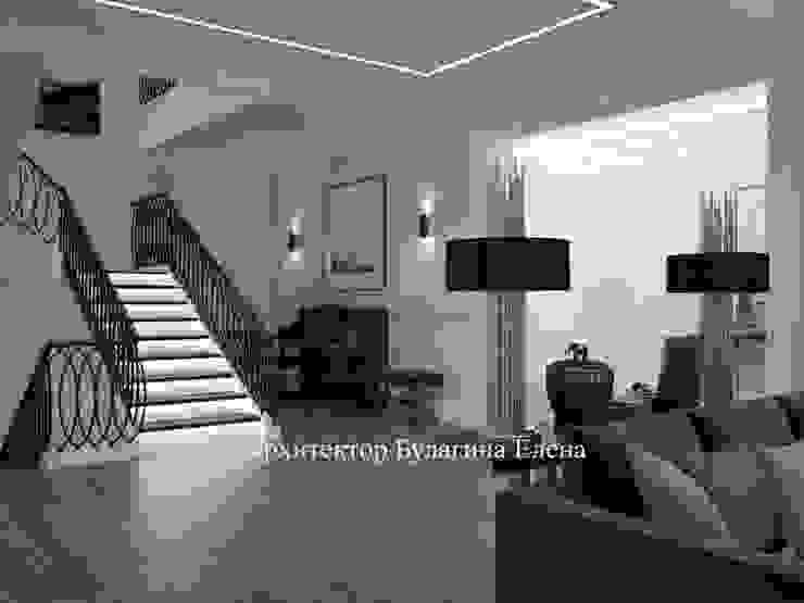 Classic style living room by Архитектурное Бюро 'Капитель' Classic Ceramic