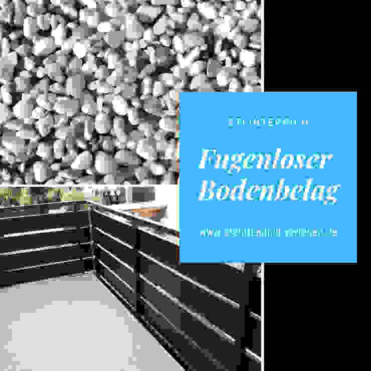 Fugenloser Balkonboden aus Steinteppich von Steinteppich der Balkon & Terrassenbelag deutschlandweit Mediterran Stein
