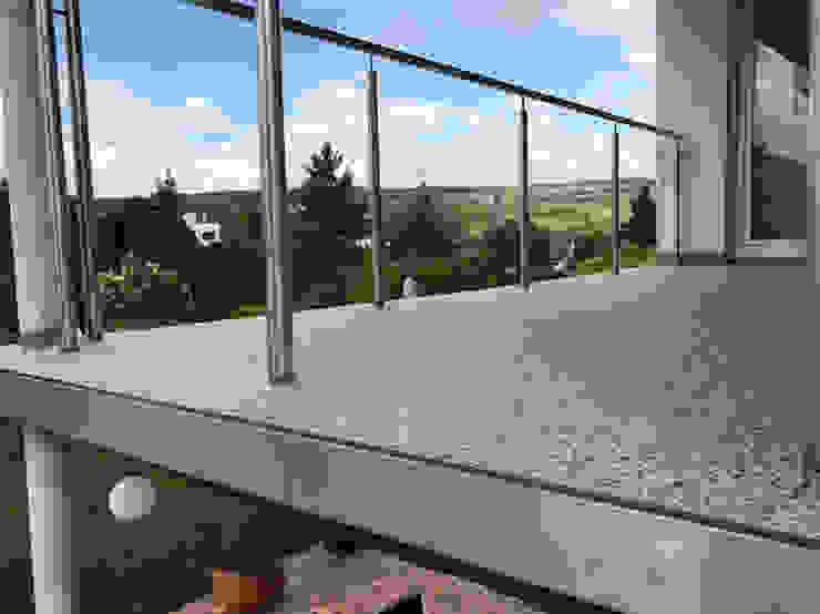 Balkonbelag aus italienischem Steinteppich von Steinteppich der Balkon & Terrassenbelag deutschlandweit Mediterran Stein