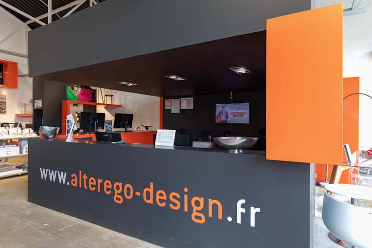 Рабочий кабинет в стиле модерн от Alterego Design Модерн